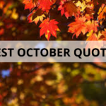 25 Best October Quotes
